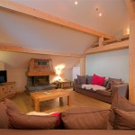 chalet near the lifts in Morzine