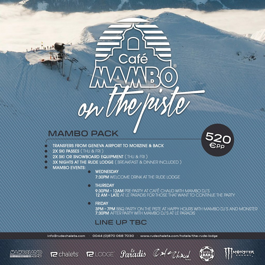 mambo on the piste