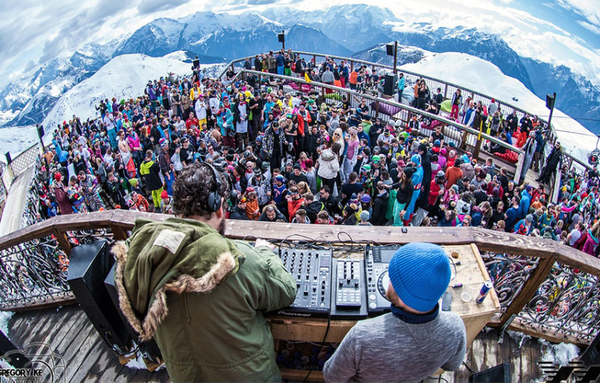 Snowboxx Festival French Alps