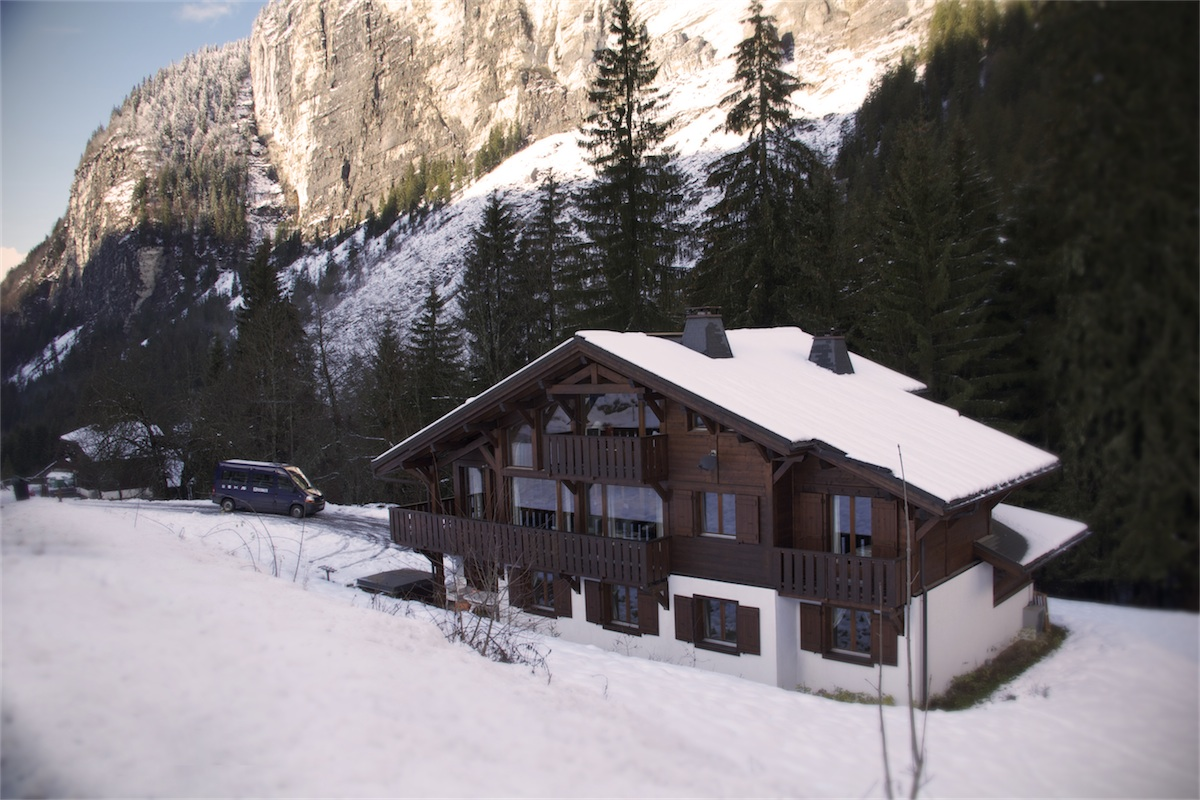 Large ski chalet for groups