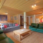 large chalet in Morzine town centre