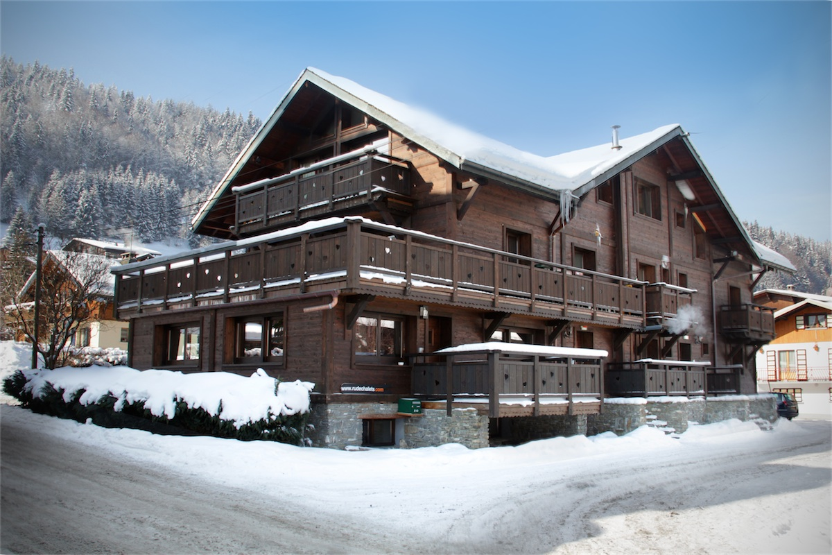 Large catered chalet in Morzine.
