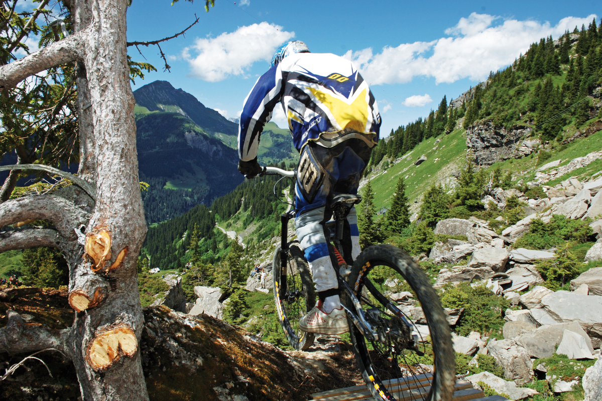 Mountain biking holiday Morzine Portes du Soleil chalets Hotels